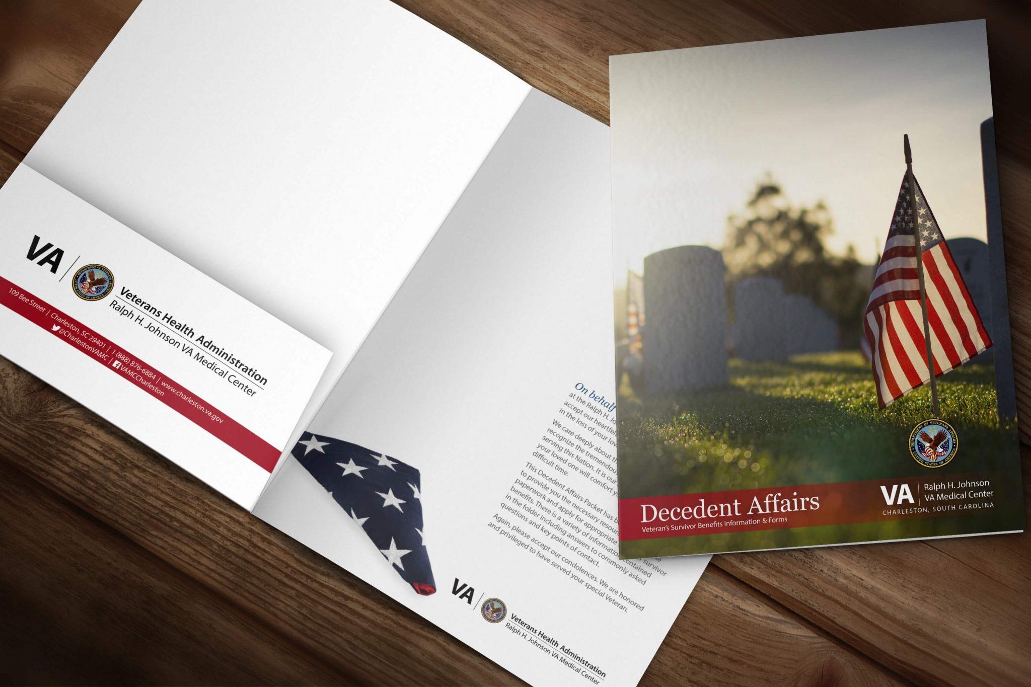 myVA & Decedent Affairs Folders