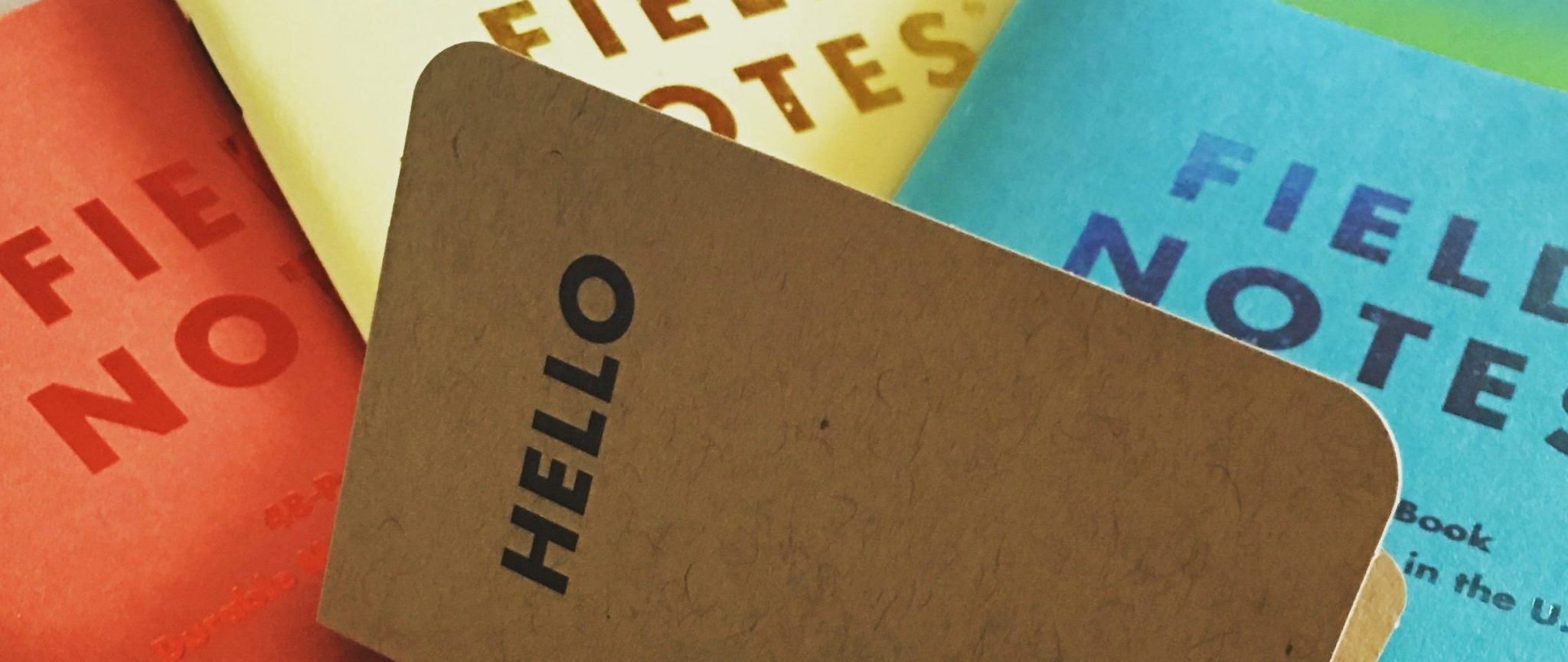 Hello Field Notes