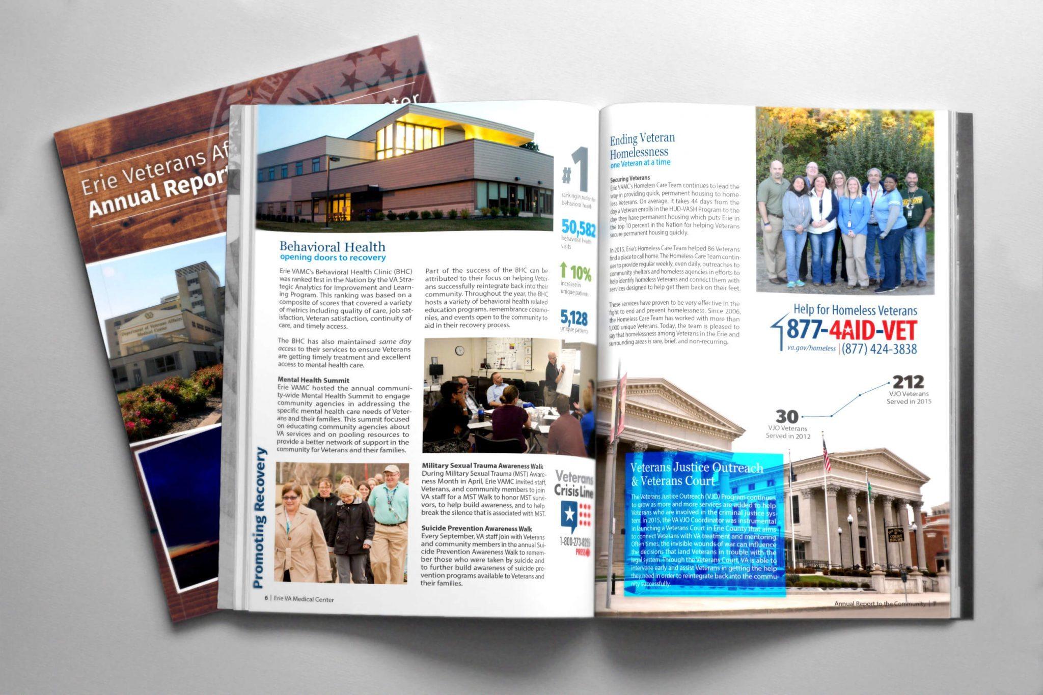 FY15 Annual Report – Erie VAMC