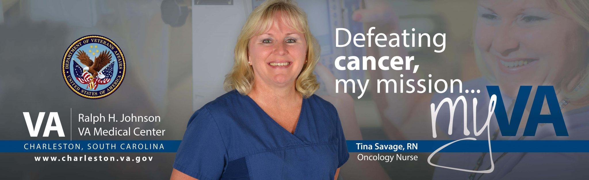Tina Savage Oncology billboard
