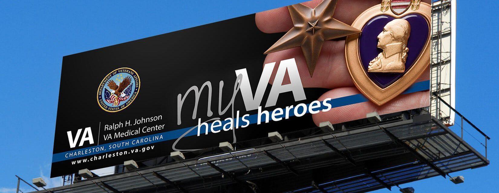 myVA Campaign Billboard